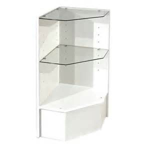 Corner Display Cabinet White Durable Corner Display Cabinet Subastral