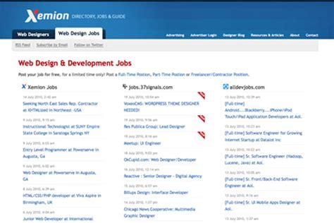 web design home jobs 20 websites to find web design jobs