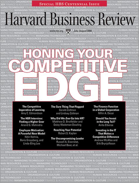Harvard Mba Values by Employee Motivation A Powerful New Model