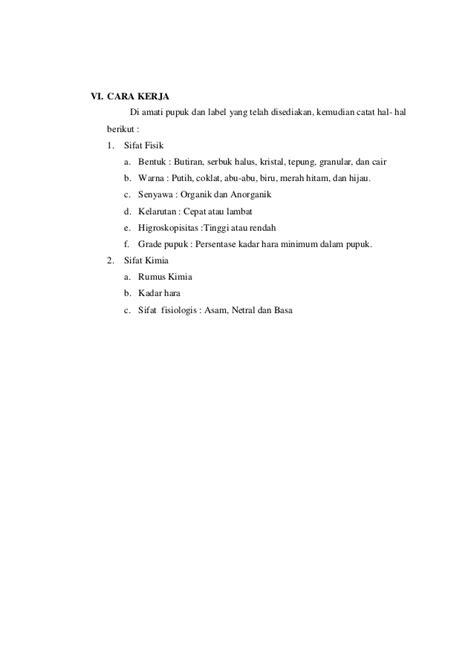 Pupuk Majemuk Np laporan 1