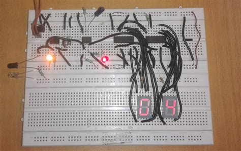 2 digit object counter circuit diagram using ic 555 amp lm358