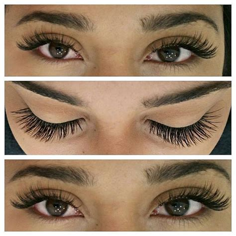 women in 60s with eyelash extensions individual eyelash extension services offered at both
