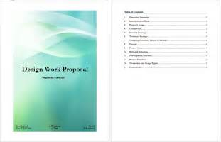Free Templates For Proposals by Design Work Template Microsoft Word Templates