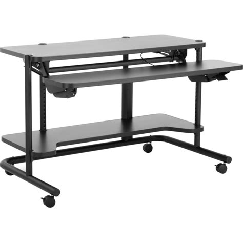 Anthro Computer Desk by Adjustacart Anthro Corporation Anj4801bk Anthro Desks