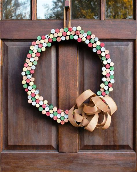 wreath diy cork wreath how to diy network blog made remade diy