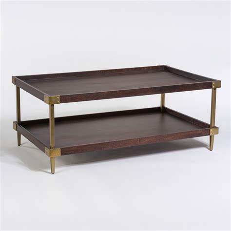 avenue coffee table alder tweed furniture