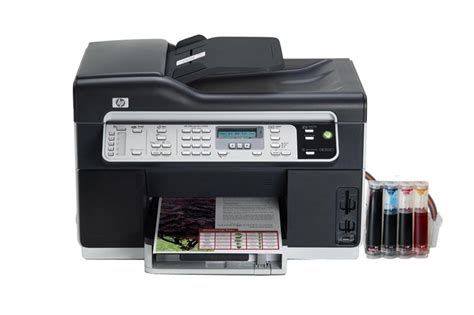 Hp Office Jet Pro 8500 by Hp Officejet Pro 8500 All In One Inkjet Printer With Ciss