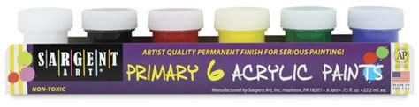 sargent acrylic paint pots sargent acrylic paint pots blick materials