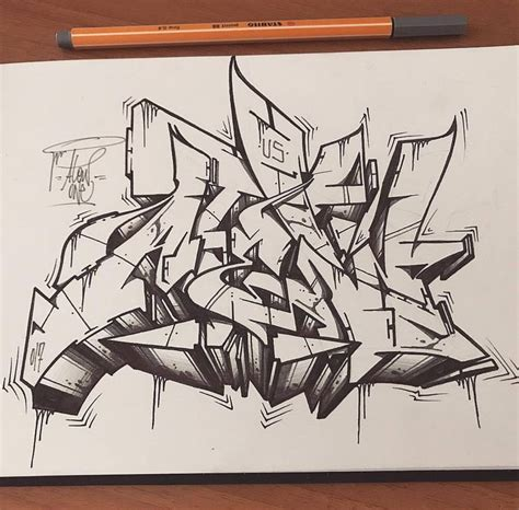 graffiti wild style sketch atew  photo graffiti wild