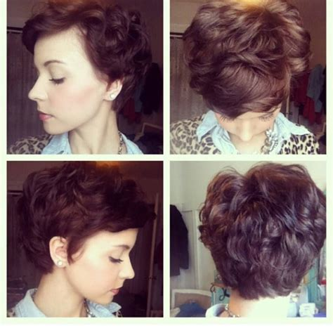 pixie cut permed pixie for wavy hair i wish my hair would cooperate for