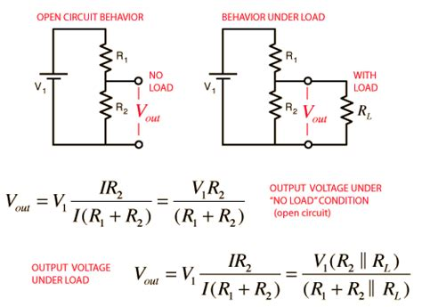 series resistor and voltage division voltage divider