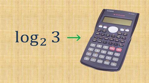 calculator log2 calculando logaritmo na calculadora cientifica youtube