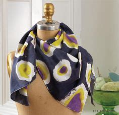 Tutorial Segiempat Batikascarf Original batik on silk painting dyes and wax