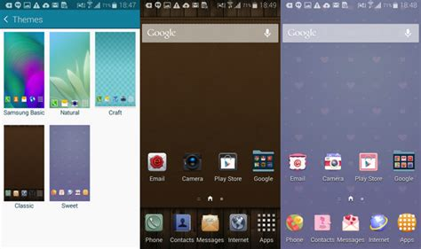 themes galaxy a7 more details about samsung touchwiz themes explained