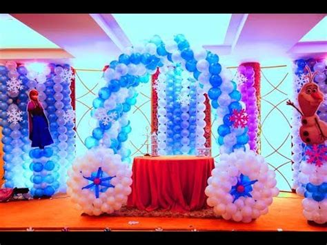 frozen themed party kelso frozen themed birthday party in country inn youtube
