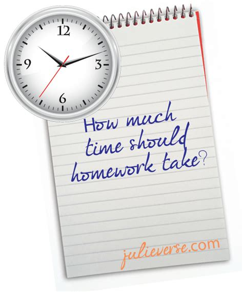 Homework Time Child School Set by How Much Homework Should My Child Get Each Julieverse