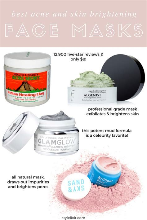The 4 Best Face Masks For Acne   Amazon's #1 Selling