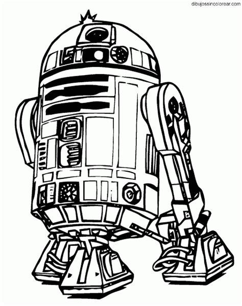 Dibujos Sin Colorear: Dibujos de R2D2 (Arturito) y C3PO