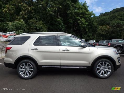 White Gold Photos by 2017 White Gold Ford Explorer Limited 4wd 122498907 Photo