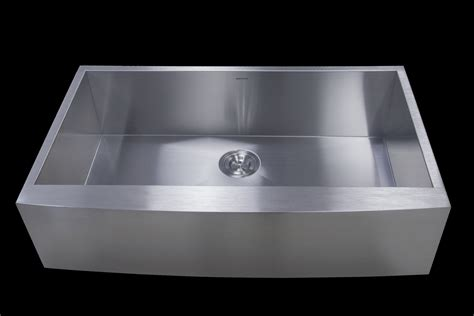 18 10 stainless steel kitchen sinks as352 36 quot x 22 quot x 10 quot 18g single bowl apron legend