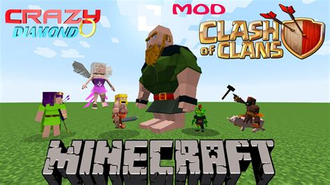 how to download mod clash of clans youtube minecraft clash of clans mod 1 7 10 pt br youtube