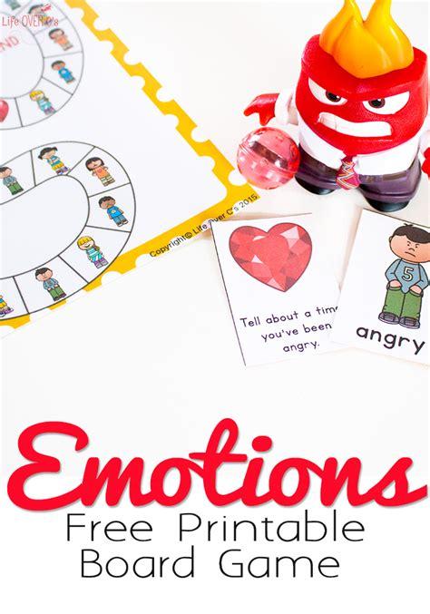 free printable emotions board game free printable free printable emotions board game