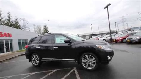black nissan pathfinder 2015 2015 nissan pathfinder platinum magnetic black