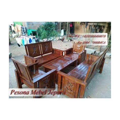 Pot Bunga Jati Furniture Kursi Makan Kursi Tamu Bufet Dipan Jati kursi tamu minimalis bunga matahari