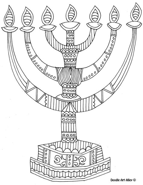 hanukkah coloring pages to print 8 of the best most artful hanukkah coloring pages