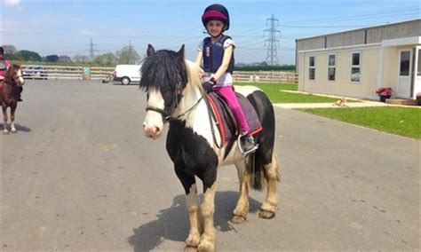 childrens pony riding lesson mill house riding centre