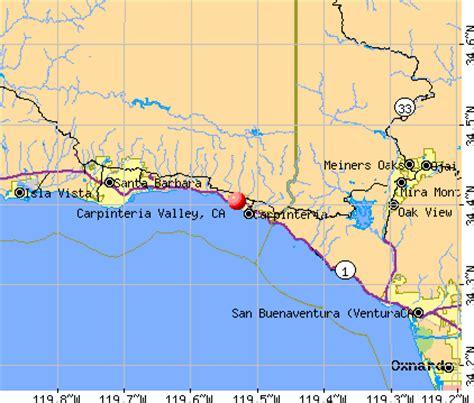 carpinteria california map carpinteria valley california ca 93013 profile