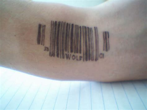 barcode tattoos for men barcode tattoos and designs