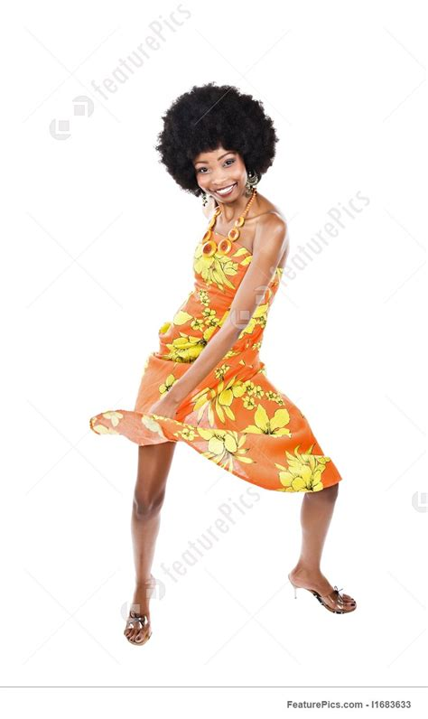 african woman dancing stock picture   featurepics
