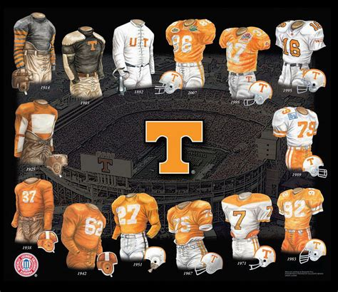 Fl Records Of Tennessee Volunteers Football And Team History Heritage