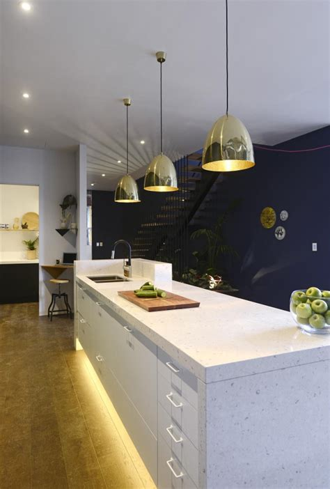 Kitchen Lights The Block The Block Glasshouse Kitchen Reveals Island Bench And