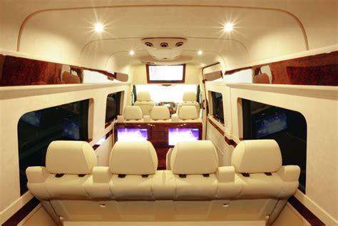 luxury minivan interior mercedes l1 executive vehicle goal stuff
