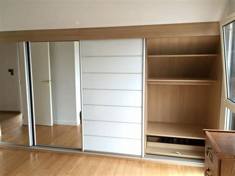armoire pour chambre mansard馥 armoire mansarde dressing dressing with