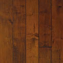 millstead hand scraped maple spice hardwood flooring at