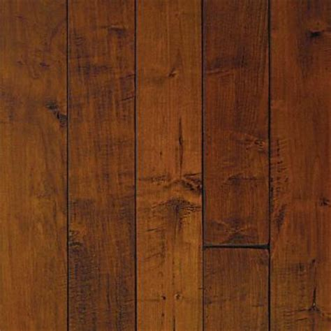 millstead scraped maple spice hardwood flooring at