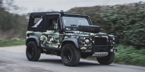 Stylish Design by Land Rover Defender Military Edition Tweaked Automotive