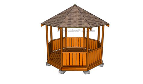 pavillon 2x4 gazebo roof framing myoutdoorplans free woodworking