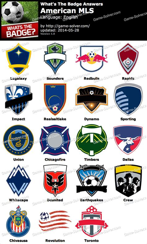 what s the whats the badge american mls answers solver