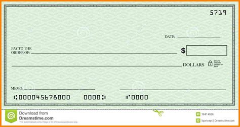 check template word 6 blank check template word
