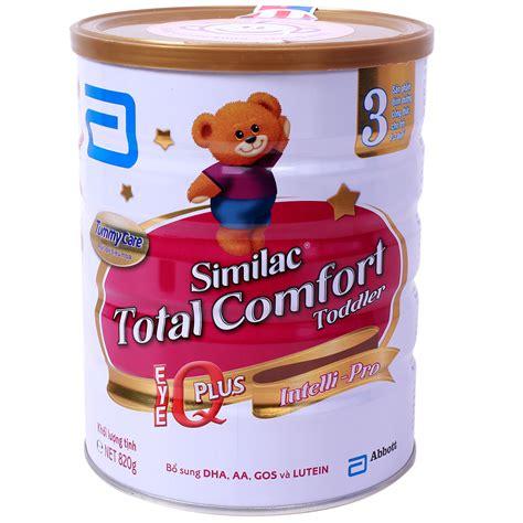 gain total comfort sữa similac gain total comfort số 3 820g d 224 nh cho b 233 từ 1