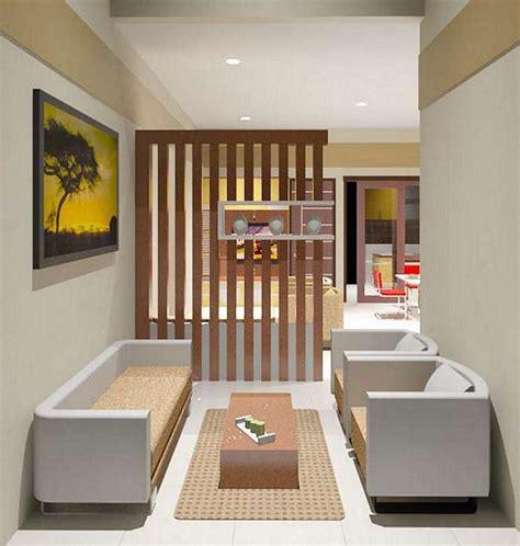 Lemari Kayu Jogja tips design interior rumah jogja partisi kayu ruang tamu