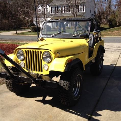 Jeep 2 5 Engine For Sale 1972 Jeep Cj5 For Sale
