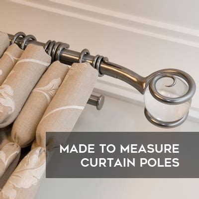 curtain poles made to measure made to measure curtains bolton blinds poles