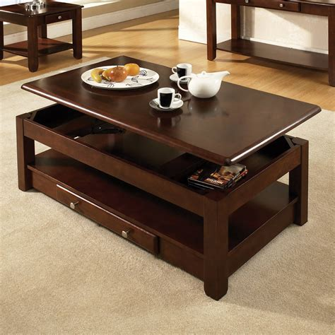 coffee tables unique coffee tables with compartments