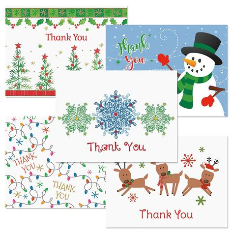 Gift Card Thank You Note - christmas season thank you note cards current catalog