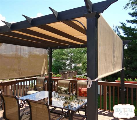 To Maximize Shade This Couple Got Rid Of Their Deck Pergola Sun Shades